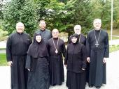 His Grace Bishop Thomas visits the Convent of St. Thekla