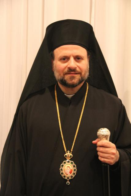 The Right Reverend Bishop Nicholas: Auxiliary - Brooklyn, and resident Assistant to the Metropolitan