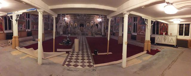 Renovations in Preparation for Enthronement of Metropolitan Joseph