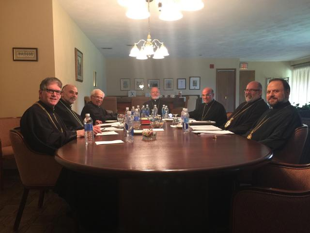 Hierarchs Meeting at Antiochian Village, Spring 2015