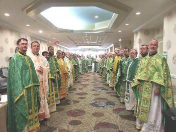 DOWAMA Clergy with Bishop Basil, 2016 Parish Life Conference