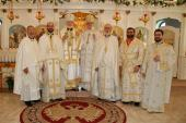 Hierarchs and Clergy: St. George in Canton, OH Feast Day and Anniversary, April 23, 2017