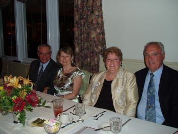 Mark Massoud, Parish Council President, Anne Massoud, Joanne Hadad, Event Chairperson, John Hadad