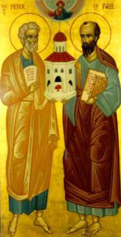 Ss. Peter and Paul, Icon of Antioch
