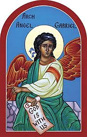 Archangel Gabriel beckoning us into Paradise
