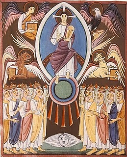 Christ Enthroned with the Father and the Holy Spirit