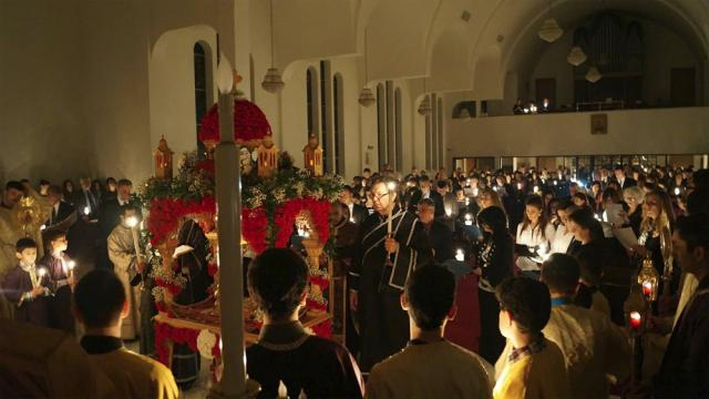 Holy Friday + St. George Cathedral, Worcester, MA