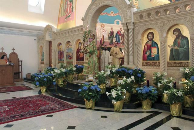 Palm Sunday + St. Mary Cathedral, Livonia, MI
