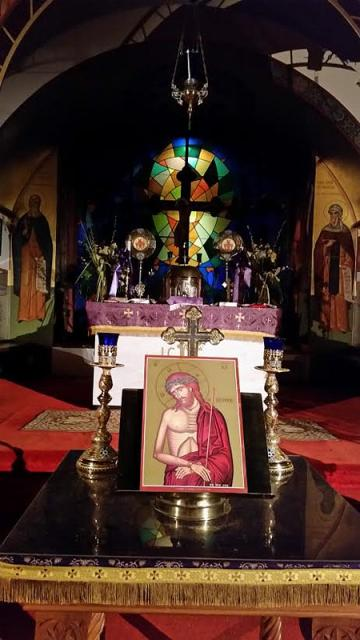 Bridegroom Orthros + St. Anthony Church, Bergenfeld, NJ