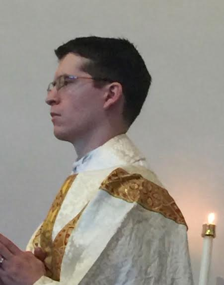The newly ordained Fr. Peter Andrew Kavanaugh