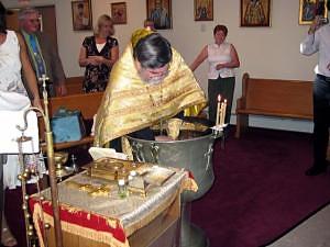 A contemporary Holy Baptism