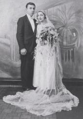 John and Ann Betar, married 80 years