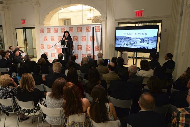 Lecture on Humanitarian Crisis in Syria + 9-29-15