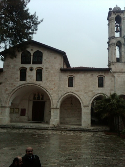 Antioch: Exterior of Ss. Peter & Paul Cathedral
