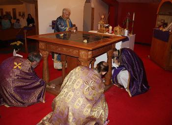Altar Consecration at Archangel Gabriel Church + Lafayette, LA
