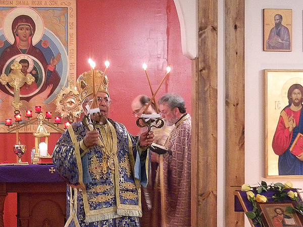 Altar Consecration at Archangel Gabriel Church + Lafayette, LA