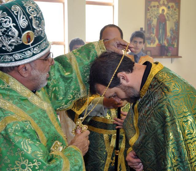 Archpriest John Dixon: Bishop THOMAS elevates the Very Reverend Fr. John Dixon to the honor of Archpriest.