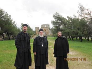 North Syria: at the monastery of St Symeon the Stylite