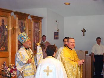 Bp. THOMAS Introduces Fr. James