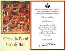 Bishop THOMAS Nativity Greetings