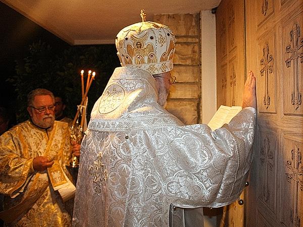 Bp JOSEPH celebrating at St. Michael Church + Van Nuys, CA