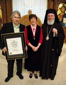 Bp BASIL with Chris Farha and her husband Warren