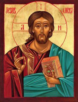 Icon by Linda Haddad, www.byzantineicons-lindahaddad.com