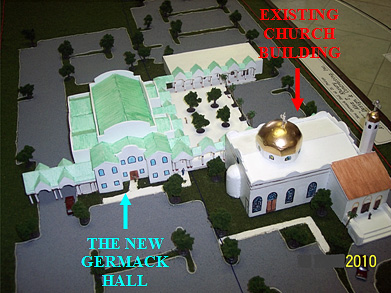Model of New Church Building
