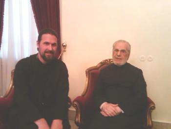 Damascus: with Patriarch IGNATIUS IV