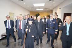 Arrival of His Beatitude Patriarch Ignatius IV