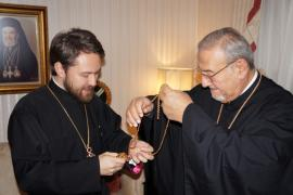Met. Philip Receives Met. Hilarion