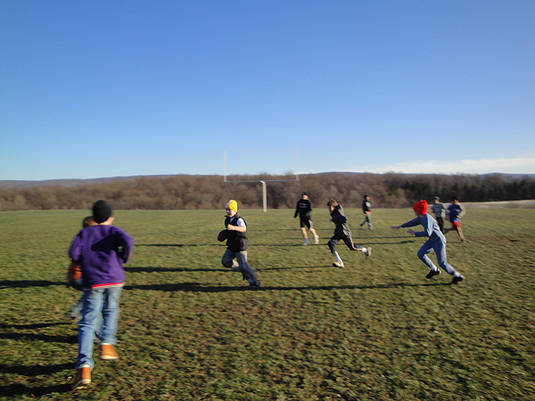 Convent of St. Thekla Middle School Retreat: Football
