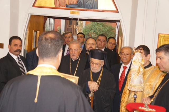 Liturgy with Patriarch Ignatius IV, Brooklyn, NY, Oct. 2012