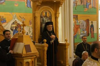 Liturgy with Patriarch Ignatius IV, Brooklyn, NY, Oct. 2012