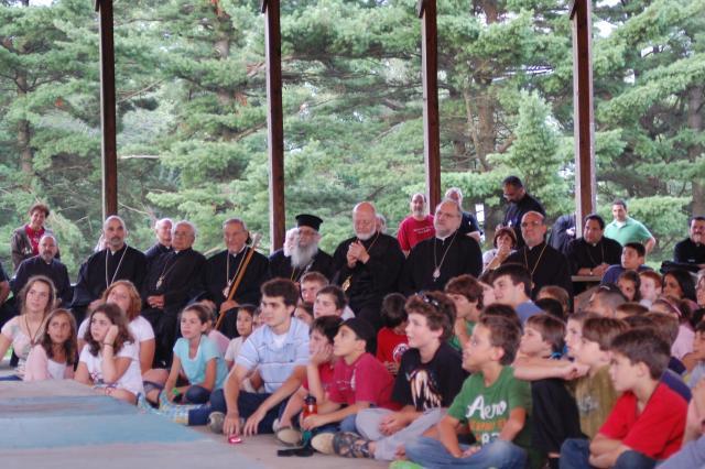 Vespers and Camper Program