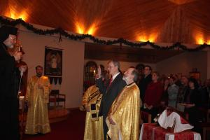 Induction of Tim Terrell into the Order of St. Ignatius