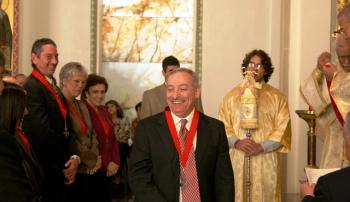New Knight of The Order of St. Ignatius of Antioch, Adel Foteh.