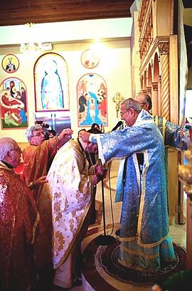 Elevation of Fr. Nicholas Ozone