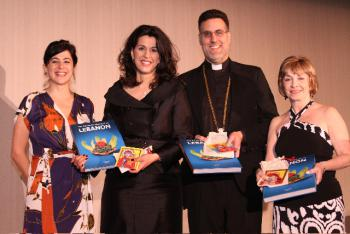 Executive Committee-Myriam Shwayri, Julie Abboud, Archpriest Thomas Zain, Elaine Khoury