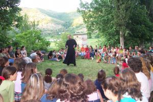 Fr. Luke Veronis Preaches in Albania