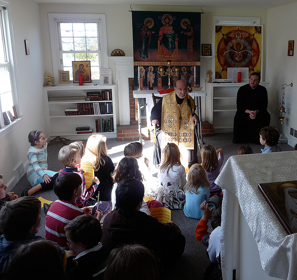 Bishop THOMAS Visits Holy Ascension Mission + Frazer, PA