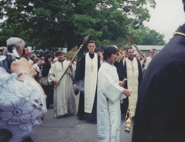Procession with the relics of St. Raphael