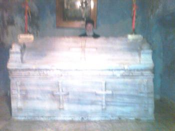 Homs: Reliquary enshrining the body of Mar Ilyan