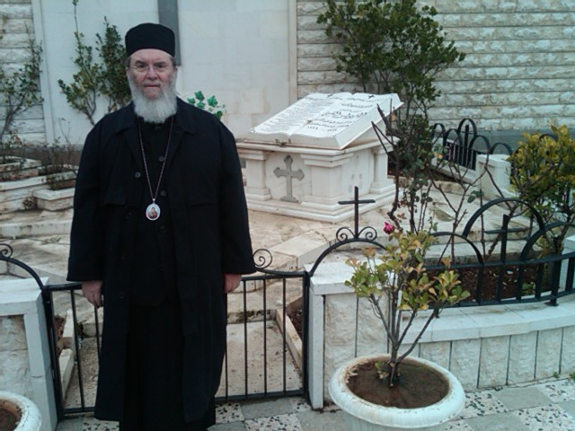 Homs: Grave of Met. ALEXIE at Church of Mar Ilyan