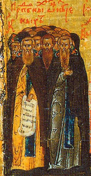 Holy Fathers Slain in St. Sabbas Monastery