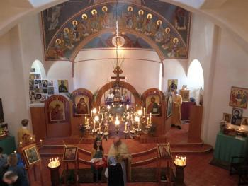 Palm Sunday at Holy Trinity+ Santa Fe, NM