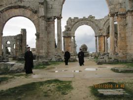 North syria: In the Church of St. Symeon the Stylite