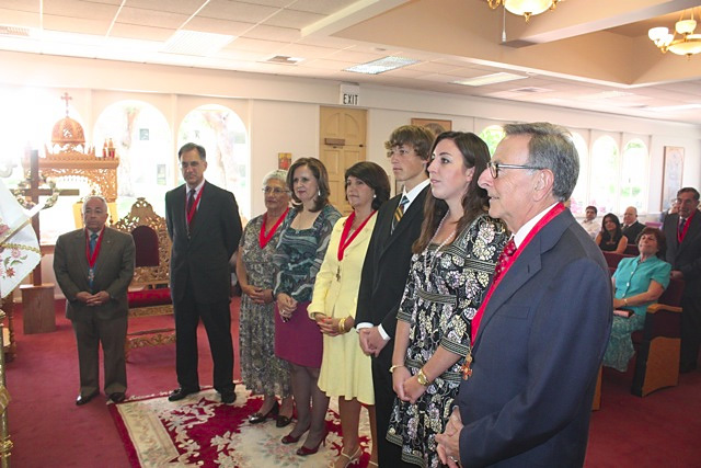 April 2010 Order Inductions + St. Mark Church, Irvine, CA