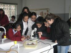 IOCC Science Labs: Lebanese public school students are getting a better education in science thanks to IOCC science labs. The labs, completely outfitted with science equipment, are part of IOCC's US government-funded program to improve public schools throughout Lebanon.