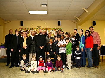 Metropolitan PHILIP with Sunday School